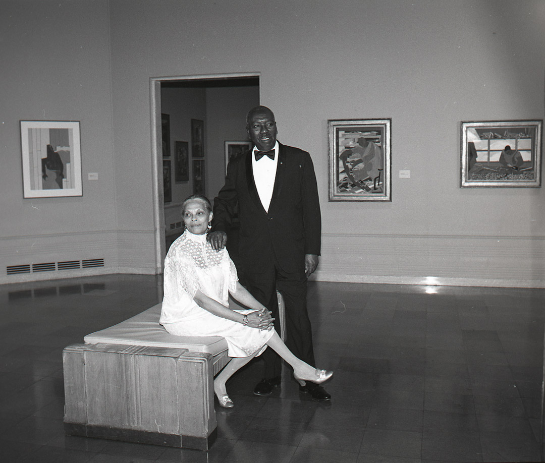 Jacob Lawrence and Gwendolyn Knight Lawrence